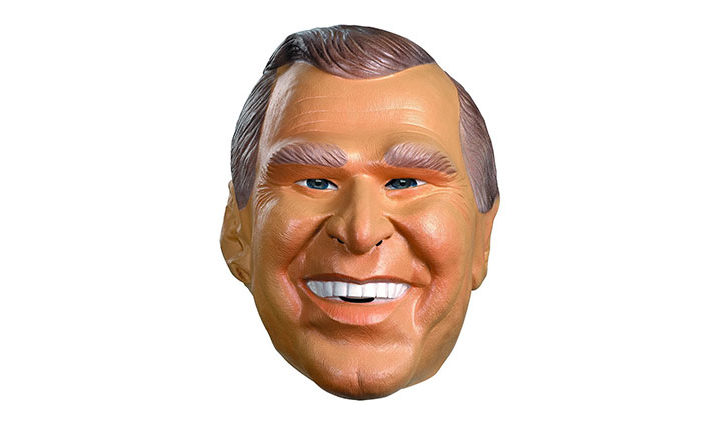 Disguise G.W. Bush Vinyl Costume Mask