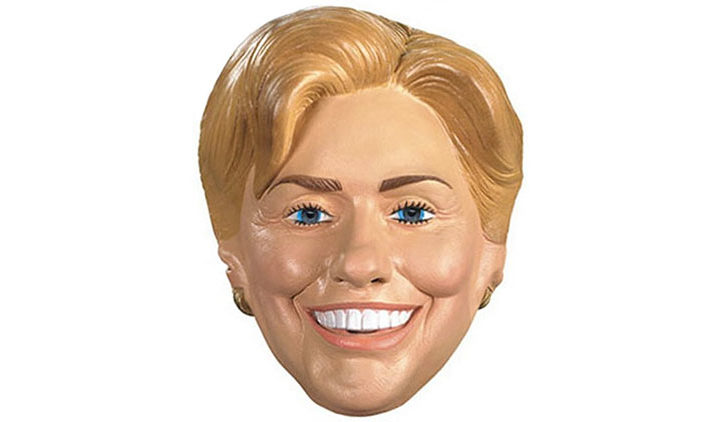 Adult Hillary Clinton Costume Mask