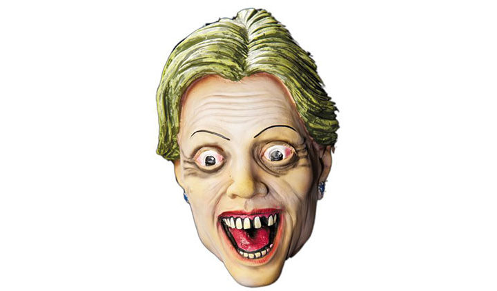 Zombie Hillary Clinton Costume Mask