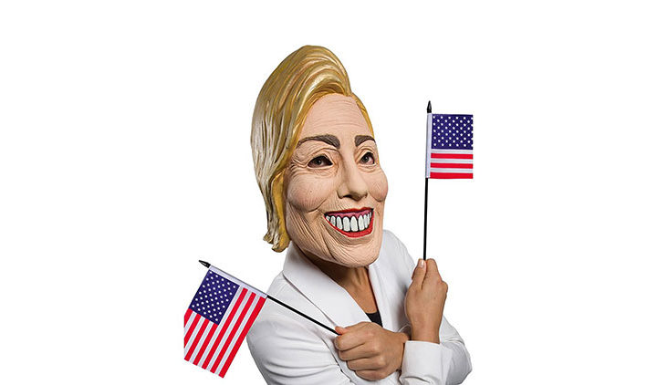 Political Mask Hillary