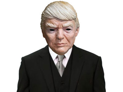 Deluxe Donald Trump Republican Presidential Candidate Costume Face Mask
