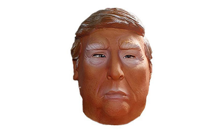 Donald Trump Presidential Candidate Politician Latex Costume Mask