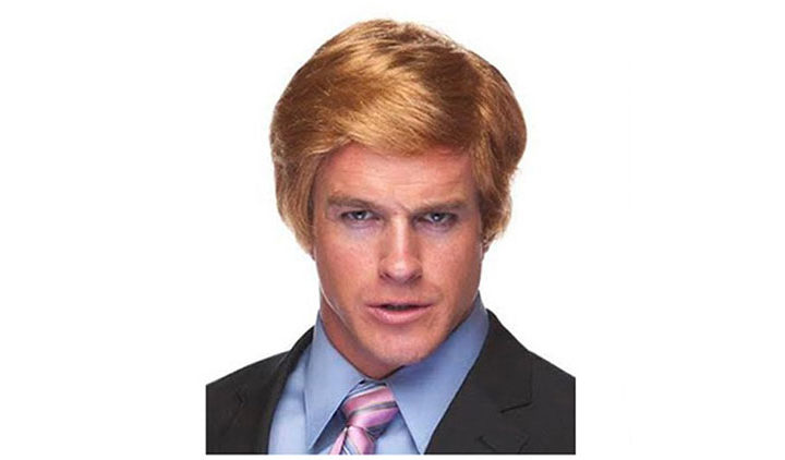Donald Trump Costume Billionaire Wig Adult Accessory