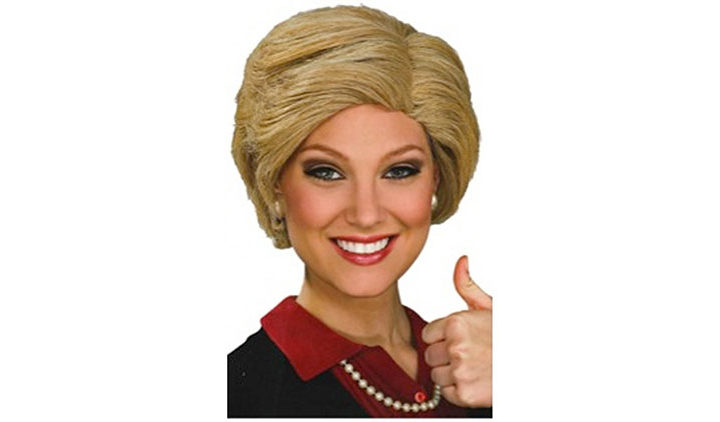 Hillary Clinton Wig Adult Accessory
