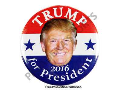 Donald Trump for President Campaign Buttons