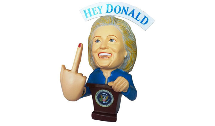 Donald Trump Bobble Hillary Clinton – Election 2016
