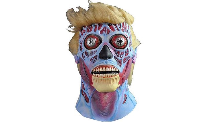 Donald Trump Alien Mask
