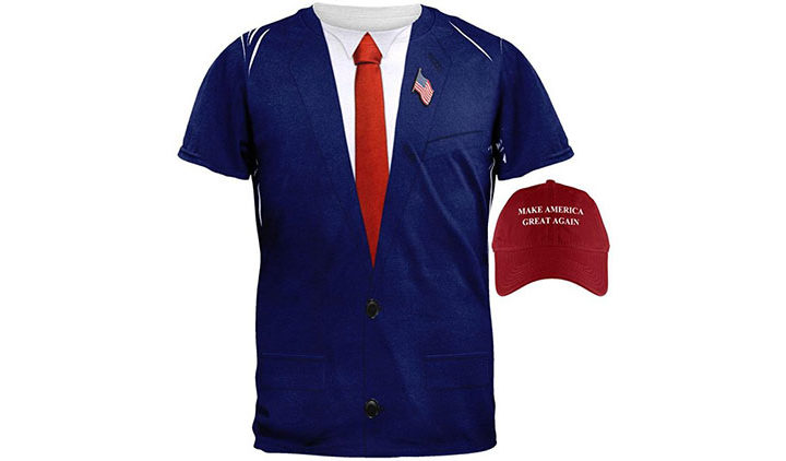 Shirt and Hat of Donald Trump