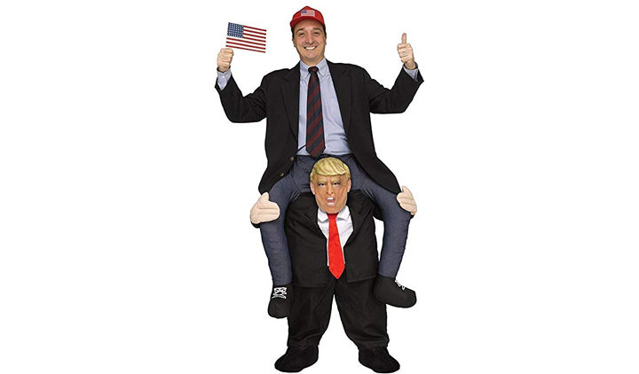 Ride a President Donald Trump Adult Costume