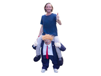 Ride-on Trump Costume