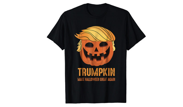 Trumpkin T-Shirt Make Halloween Great Again